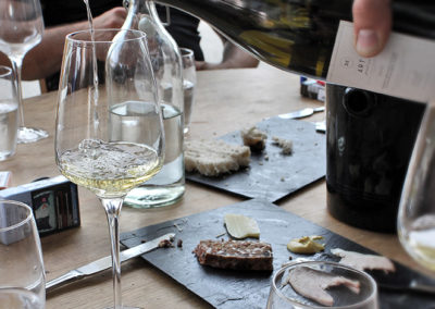 Dégustations vins et produits locaux